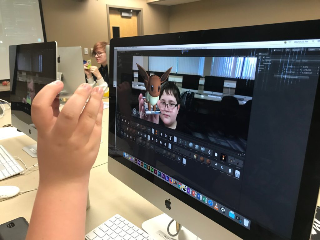 MSUM College For Kids - Augmented Reality